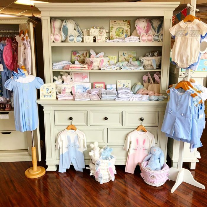 baby clothes at Picket Fences baby store