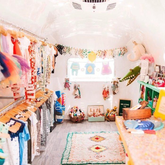 interior of Lemon Drop Children's Shop