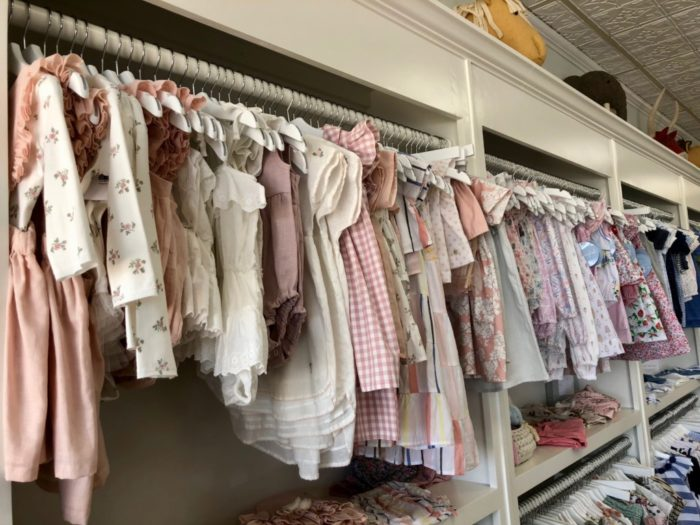 baby clothes at Olivia Shoppe