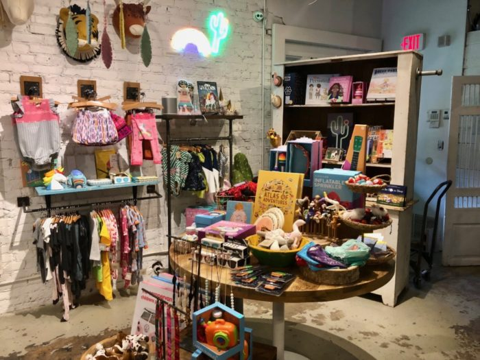 baby products at Favor the Kind gift shop