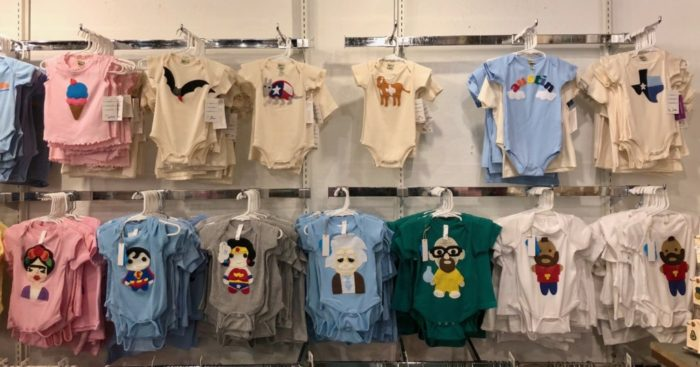 onesies at Parts & Labour store