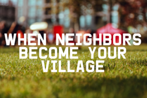 AMB-When Neighbors Become Your Village