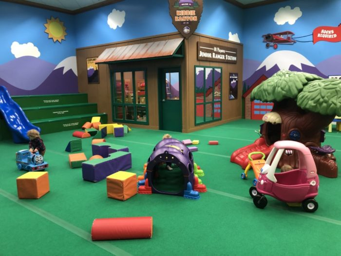 toddler play area at Mt. Playmore