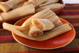 chicken tinga tamales
