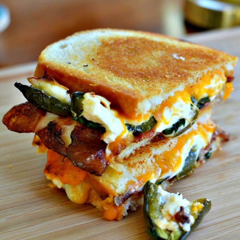 Jalapeno Popper Grilled Cheese Austin Moms