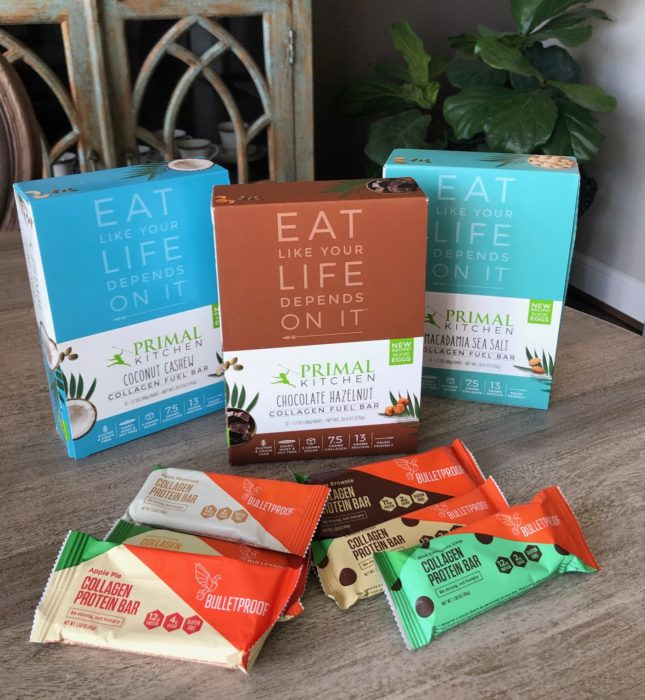 collagen protein bars
