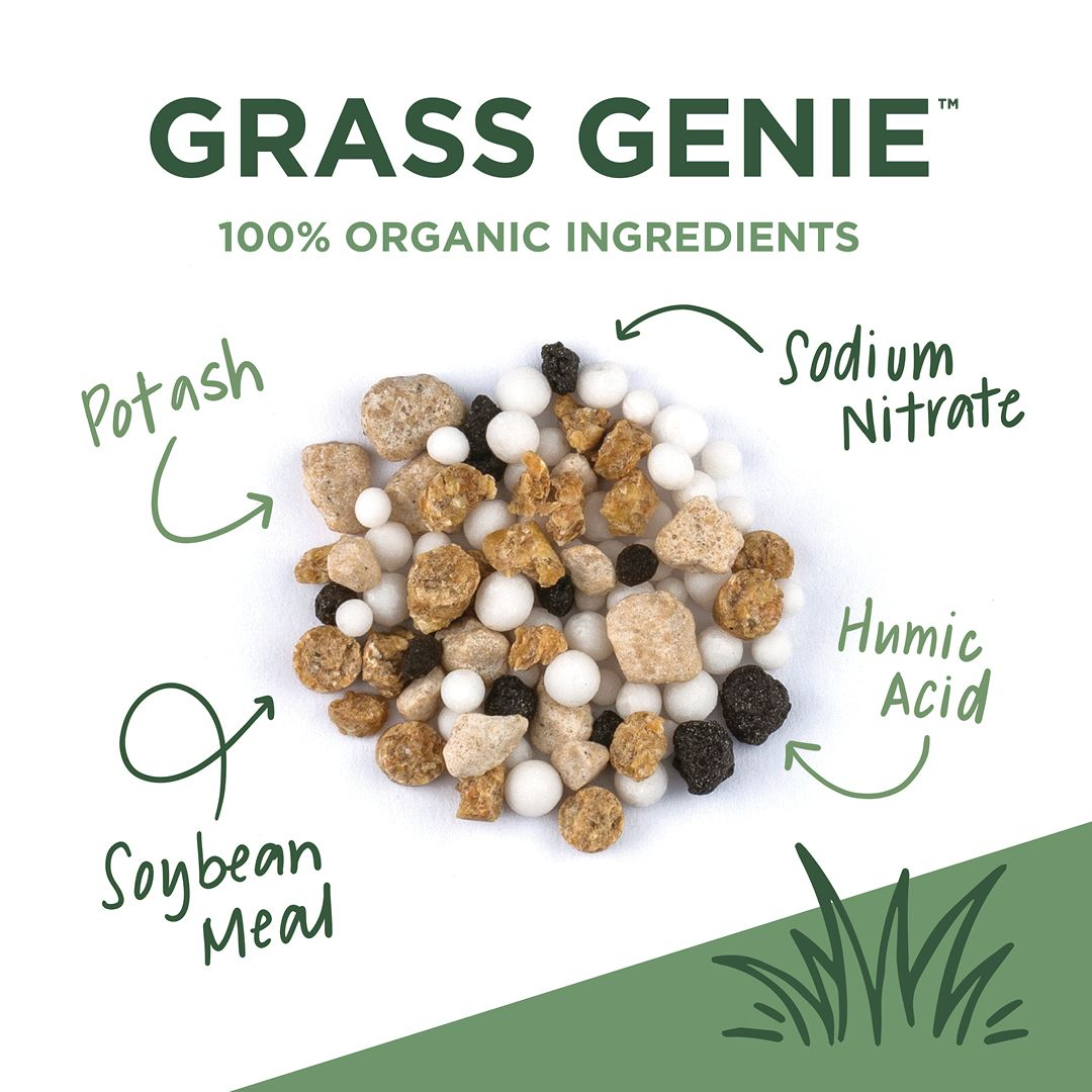 grass genie organic ingredients