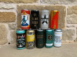 Crowlers from Austin breweries