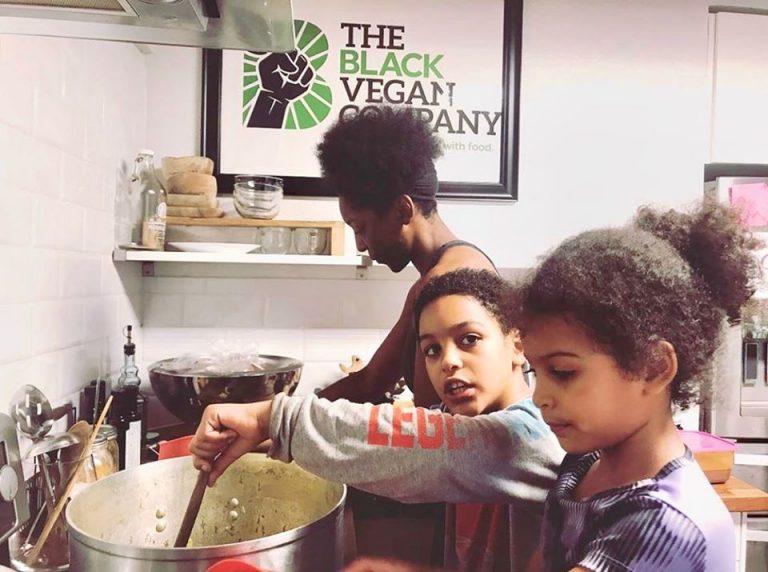 Fresh, FREE, Organic Produce for Austin Families: IDEA Parmer Park & The Black Vegan Company Partnership