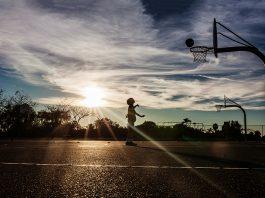 Kids playing sports during pandemic