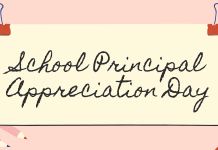 School Principal Appreciation Day